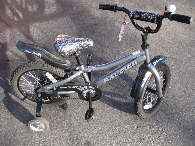 Raleigh Mxr 16 Kids Bike W Training Wheels Safety Inspected