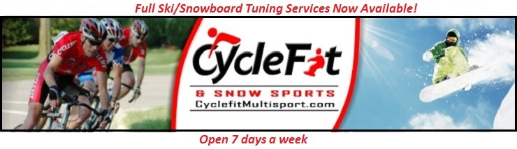 Ski and Snowboard Service at Cyclefit